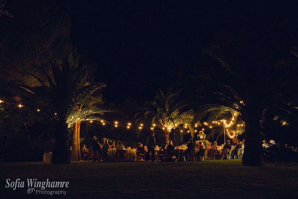 Wedding night, photographed in Mallorca