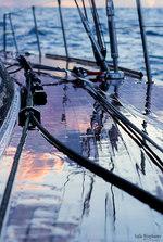 Morning rain on Atlantic crossing