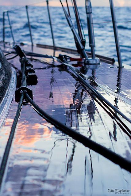 Mallorca based yacht photographer Sofia Winghamre