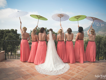 Stylish wedding in Valldemossa
