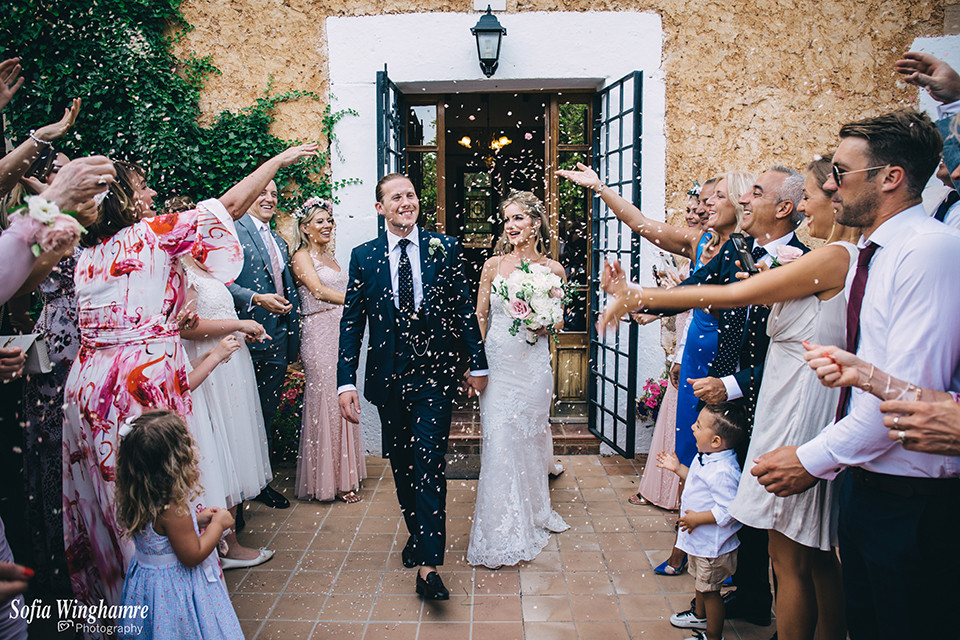 Summer wedding in Mallorca