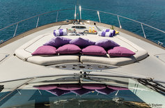 Motor yacht photographed in Mallorca