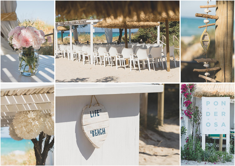 Mallorca beach wedding