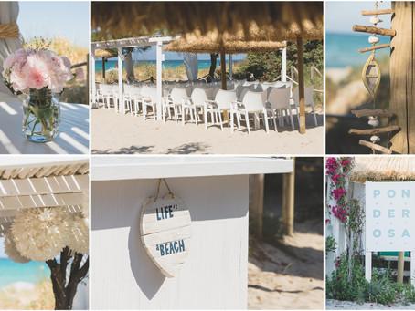 Relaxed beach wedding in Mallorca