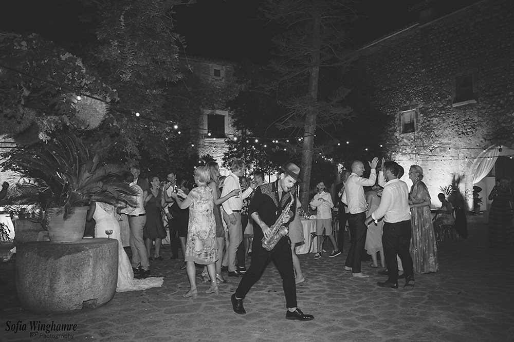 The dancing keeps on going until the early hours