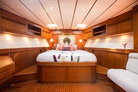 Sailing yacht interior photography