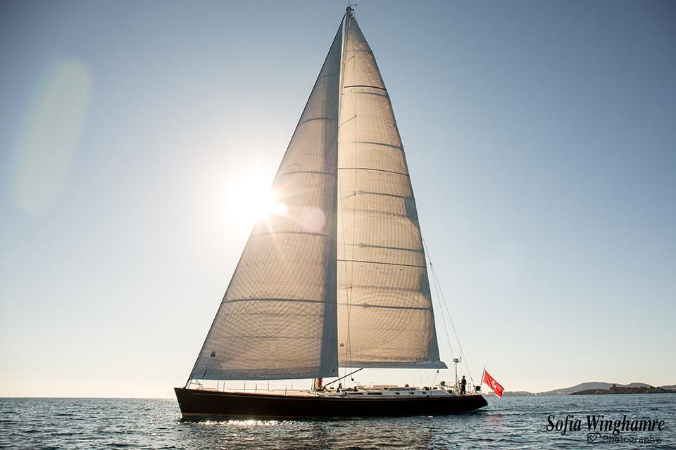 yacht photography in Mallorca