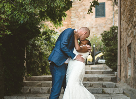 Beautiful wedding in Deia, Mallorca.