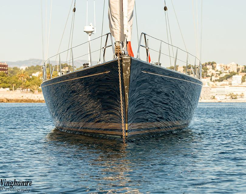 sailing yacht photographer in Mallorca