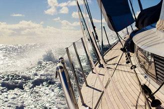 Sailing across the atlantic