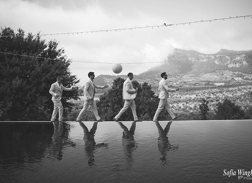 wedding photographers on mallorca