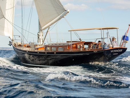 What it is like to work as a sailing yacht photographer in Mallorca.