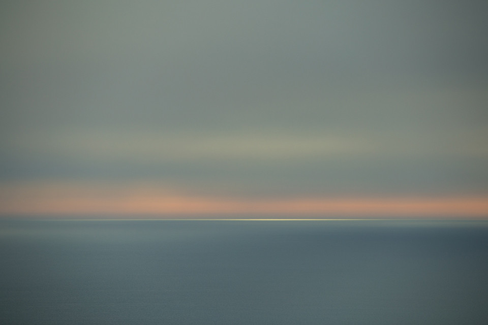 Photograph taken at sunset in Mallorca