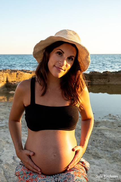Majorca maternity photography