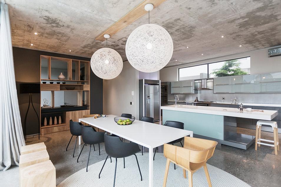 Moderne Küche von offxideas in München