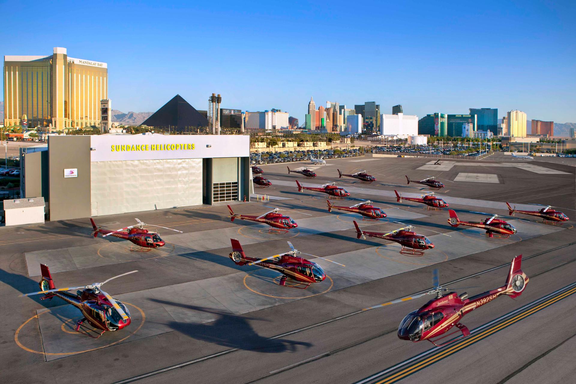 Sundance Helicopter Fleet
