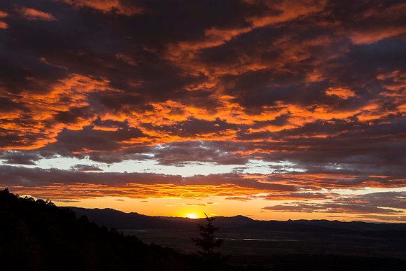 West Mountain Sunset