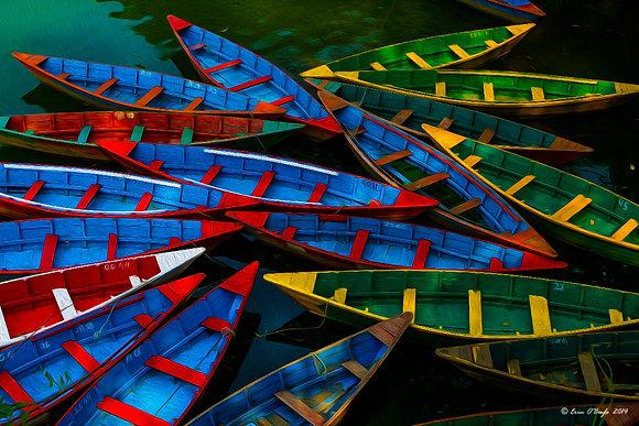 Nepalese Boats
