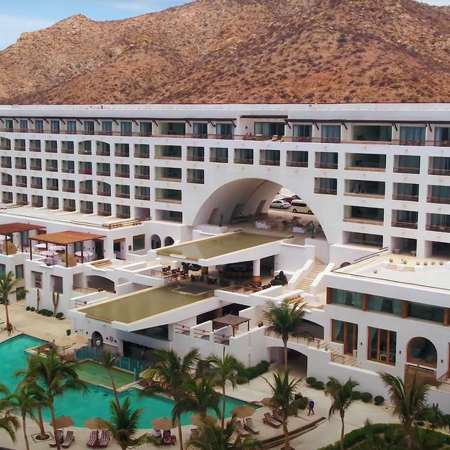 Marquis Los Cabos Resort & Spa - San José del Cabo, B.C.S. Mexico Aerial Drone Footage