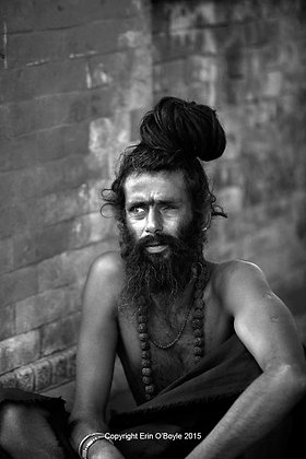 Devotee in BW