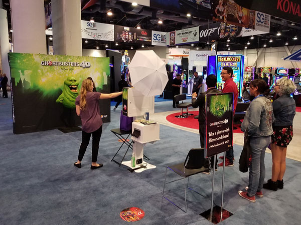 NIGA photo Kiosk for convention promotions