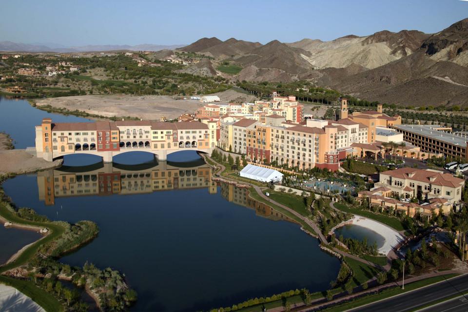 The Hilton Hotel at Lake Las Vegas