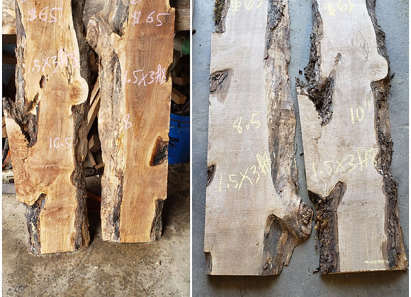 (N4) Figured maple, $65 each, both for $100. Pickup Or Shipping