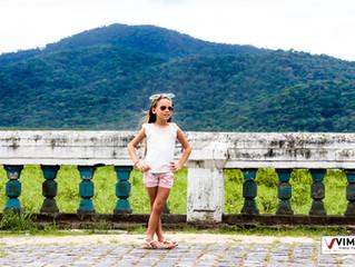 Amanda 7 anos - ensaio Pré Party