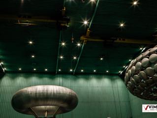 Iluminação Laboratório Lactec