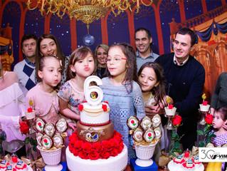 6 anos das 4 amigas Letícia, Maria Fernanda, Mariana e Marina
