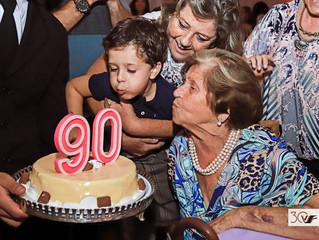 Maria 90 anos
