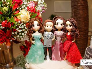 Aniversário de Cláudia, Tanit, Samantha e Thales
