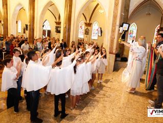 1ª Eucaristia - Igreja Bom Jesus do Cabral 2019
