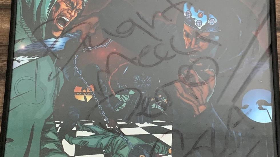 Genius/GZA Liquid Swords Autographed GZA