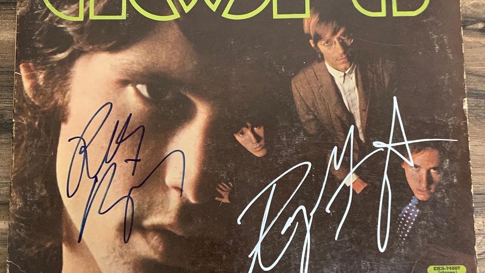 The Doors Vinyl Sleeve Autographed by Ray manzarek & Robby Kreiger