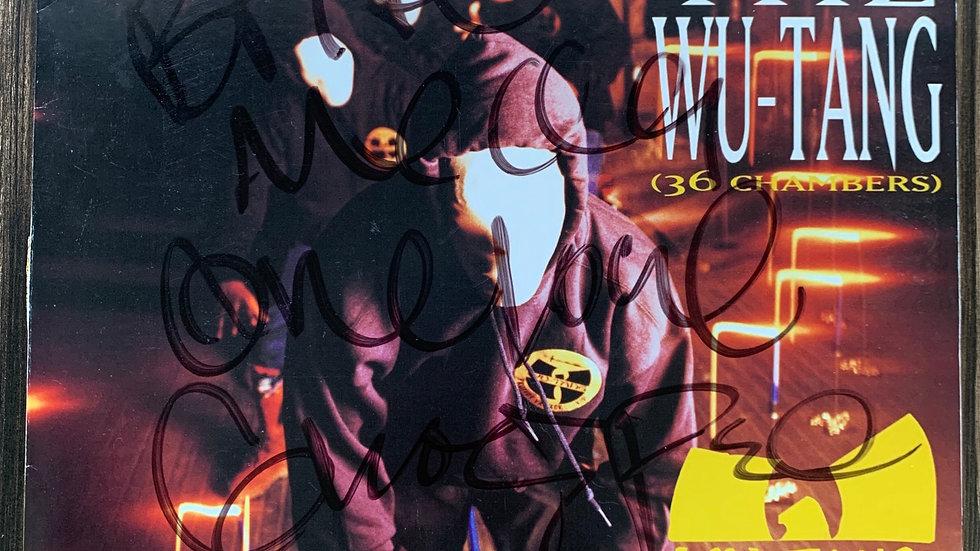 Wutang Clan Enter the Wutang Vinyl Autographed