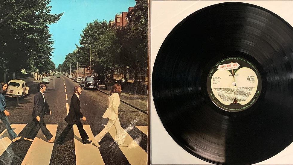 The Beatles Abbey Road Factory Sample Vinyl Record