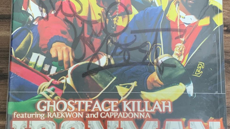 Ghostface Killah Ironman 2002 Vinyl Sealed Autographed
