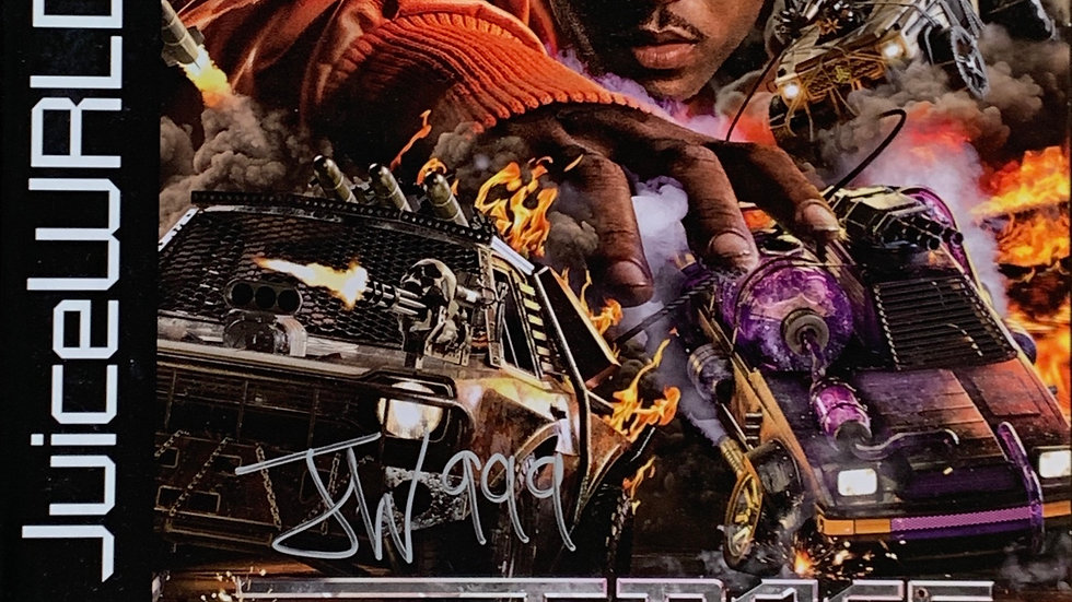 Juice WRLD Death Race For Love Autographed Authentic with Paperwork