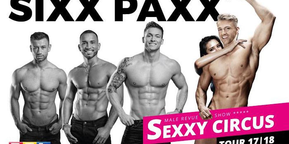 SIXX PAXX, Male Revue Show