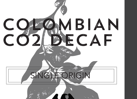 Raw/ Green Decaf - Colombian -  CO2 Process- Beans