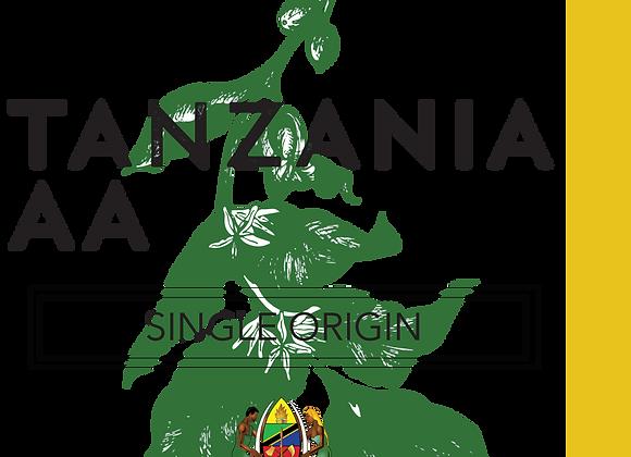 Raw/Green Tanzania AA - Beans