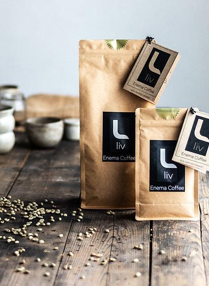 Enema Coffee- Certified Organic -LIV Golden Roast