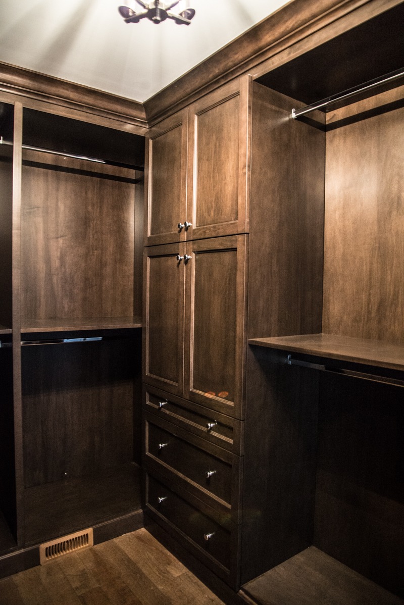Custom Maple Closet