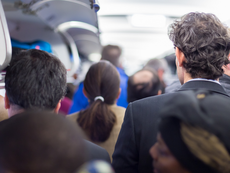 Why and What is the RUSH ? Airport/Aircraft Etiquette