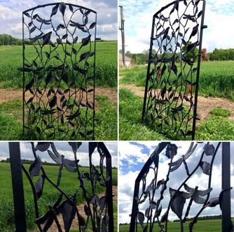 Decorative Metal Garden Gate
