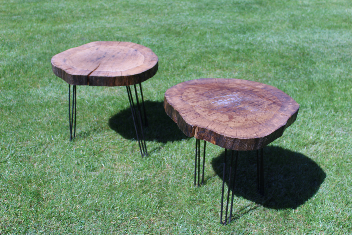 Set of Hairpin Stools