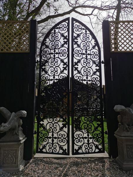 Gothic Garden Gates