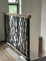 Crosshatch Interior Railing Installation
