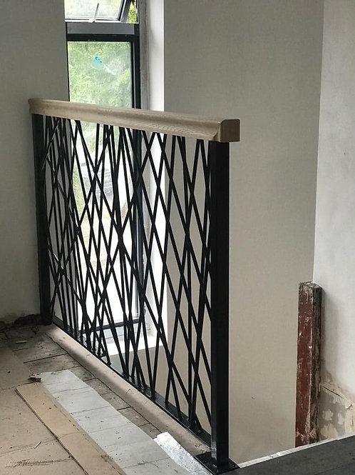 Crosshatch Railings